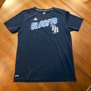 Adidas TB Rays blue T-shirt